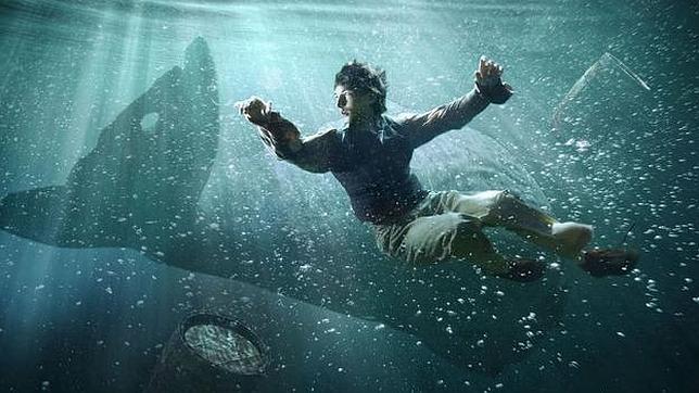 Moby Dick: el cmic El mar de tinta