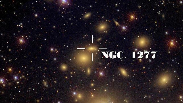 Astrofísicos españoles descubren una galaxia detenida en el tiempo