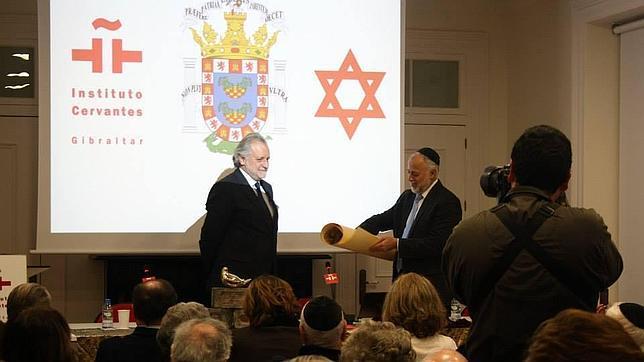 El Cervantes acoge un acto de desagravio a los judíos de Gibraltar