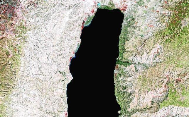 El mar Muerto resucita