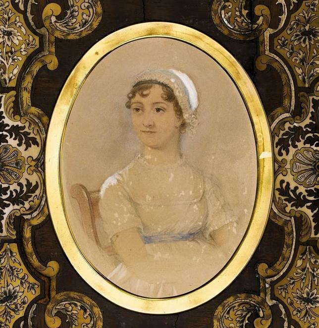 Un retrato de la británica Jane Austen alcanza los 197.400 euros en Londres