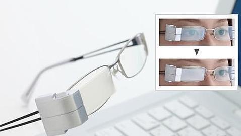 Unas gafas que «parpadean» solas