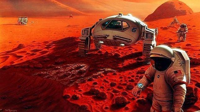 Viaje y estancia en Marte, como hacerse 50.000 radiografías