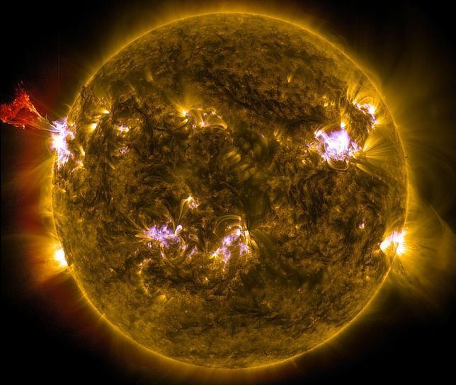 ¿Y si la gran tormenta solar de 2012 nos hubiera golpeado de lleno?