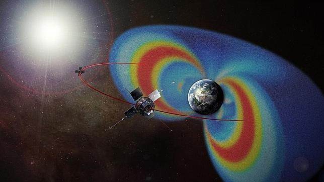 Un gigantesco acelerador de partículas envuelve a la Tierra