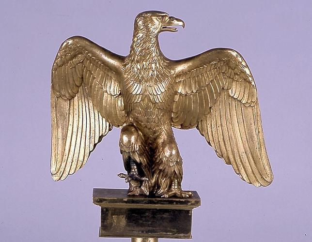 Así capturó Vigo a Napoleón el águila imperial del navío de combate «Atlas»