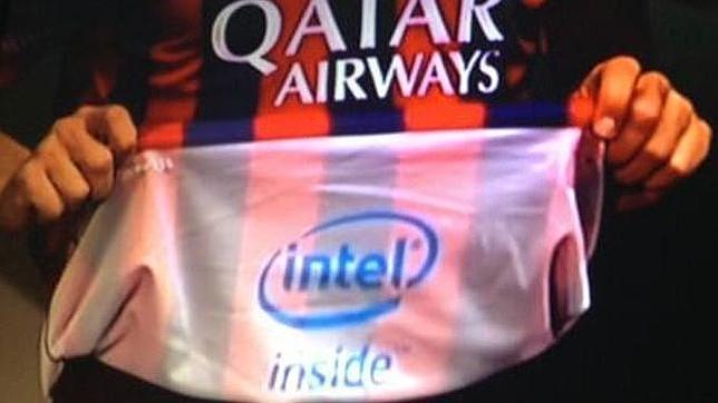 El Barcelona llevará publicidad... dentro de la camiseta