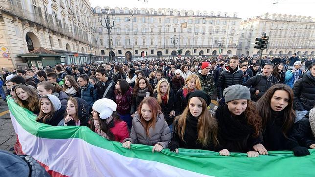 La revuelta de «las horcas» se extiende por Italia