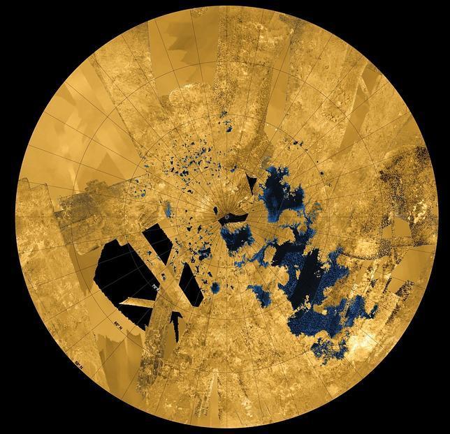 Titán contiene 40 veces más hidrocarburos que todos los pozos de petróleo de la Tierra