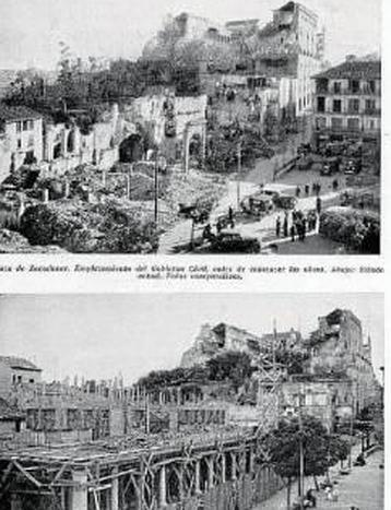La reconstrucción de Toledo tras la guerra civil, paso a paso