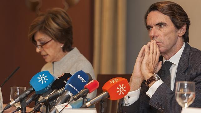 Aznar, ante el desafío catalán: «Está en juego la continuidad de la nación»