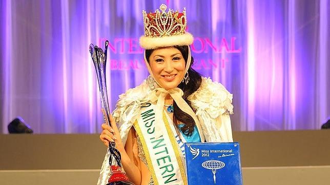 Ikumi Yoshimatsu, proclamada Miss Internacional en octubre de 2012