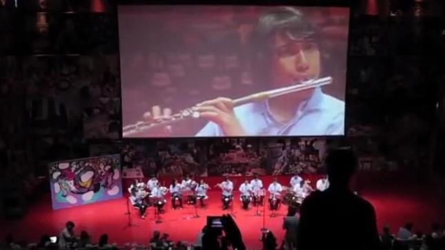 La Orquesta de Instrumentos Reciclados de Cateura debuta en España