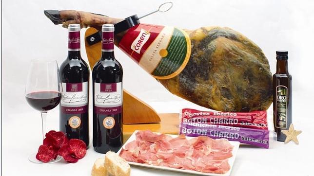 Dos lotes de productos ibéricos irán a parar a manos de María Sánchez y Fernando Garijo, participantes del concurso de ABC.es