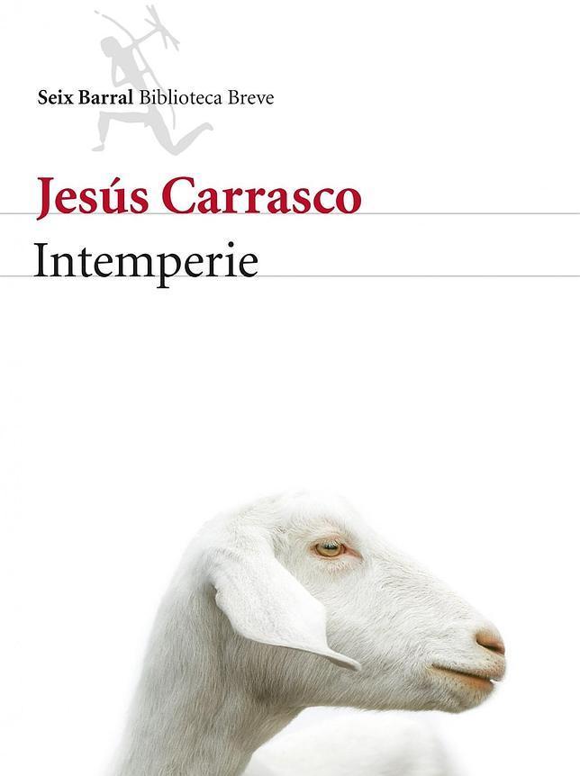 Cubierta de «Intemperie», de Jesús Carrasco