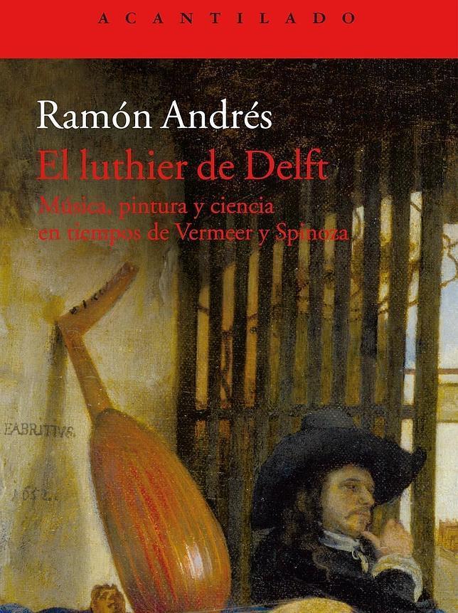 Portada de «El luthier de Delft»