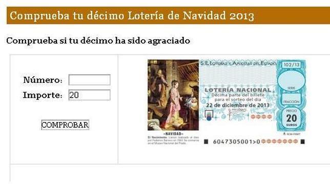 lista loteria de navidad pedrea: