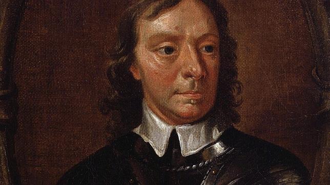 Oliver Cromwell, retratado por Samuel Cooper
