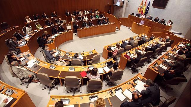 El menú del día, gratis total para los diputados de las Cortes de Aragón