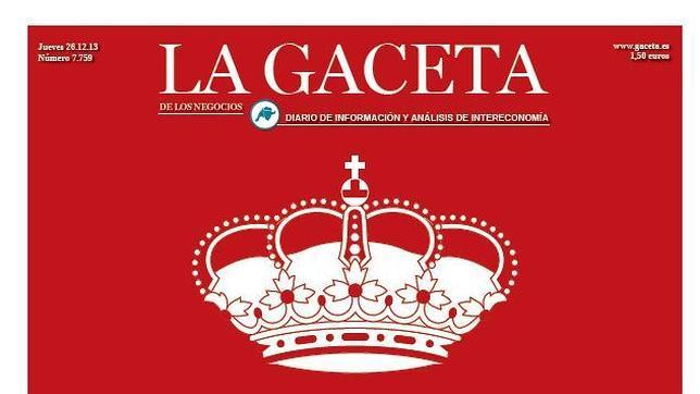«La Gaceta» echa el cierre definitivo