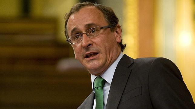 Alfonso Alonso, portavoz del PP en el Congreso