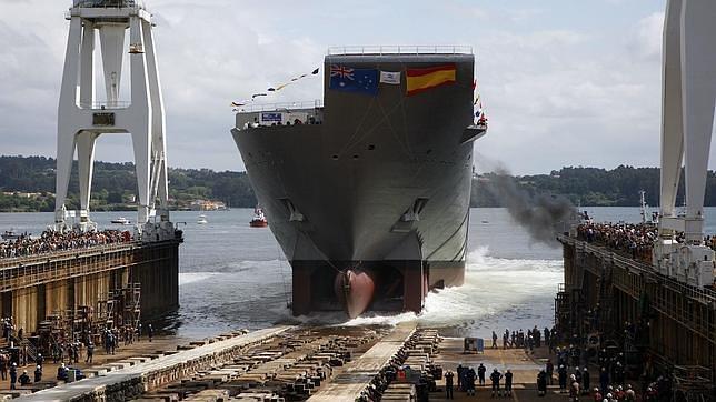 Navantia construirá un buque anfibio para Turquía