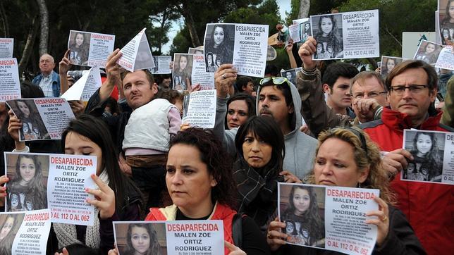 Angustia en Calviá por la desaparición Malén Ortiz, la niña de 15 años
