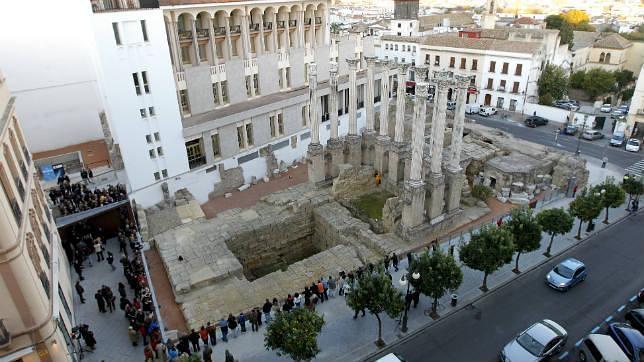 El Templo Romano de Córdoba supera las 22.000 visitas en su primer mes de apertura