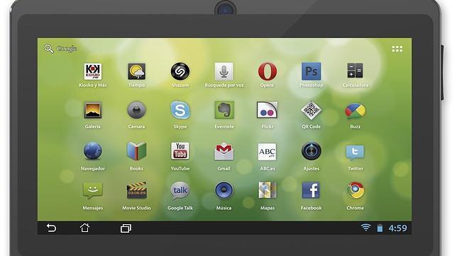 Una tablet Android 4.2 con 50 películas, por 39,99 euros gracias a ABC