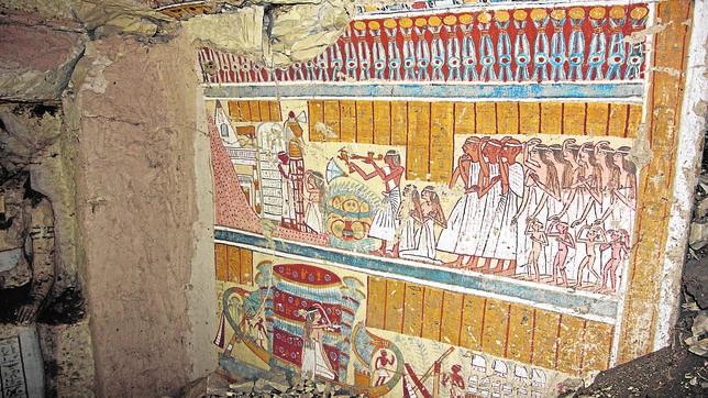 Hallada la tumba de un cervecero egipcio de hace 3.000 años