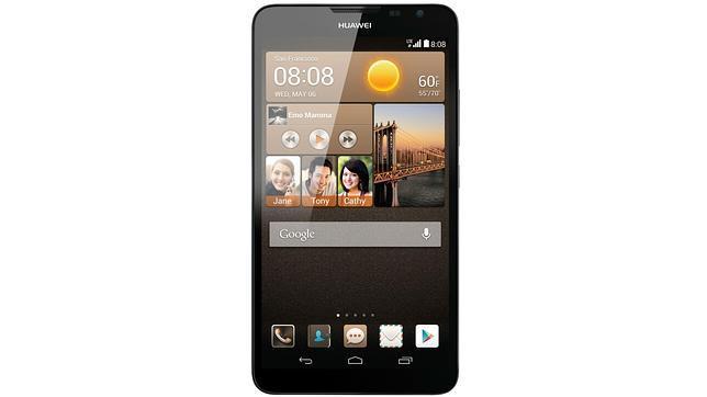 CES 2014: Huawei desvela el nuevo «phablet» Ascend Mate2 4G