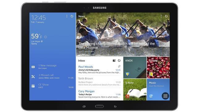 CES 2014: Samsung hace crecer a sus «tablets» Galaxy Tab Pro y NotePro hasta las 12 pulgadas
