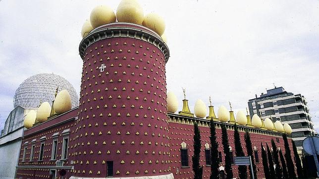 Vista del Teatro-Museo Dalí de Figueres