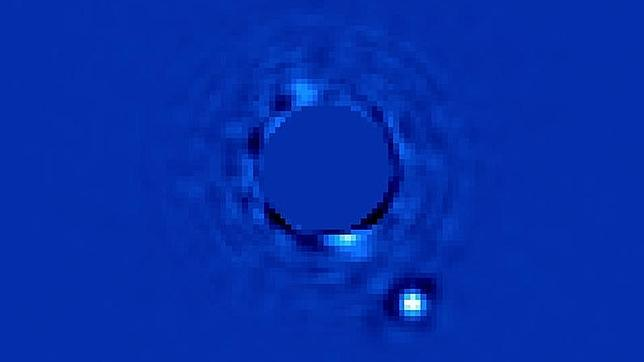 Captan la imagen directa de un planeta fuera del Sistema Solar