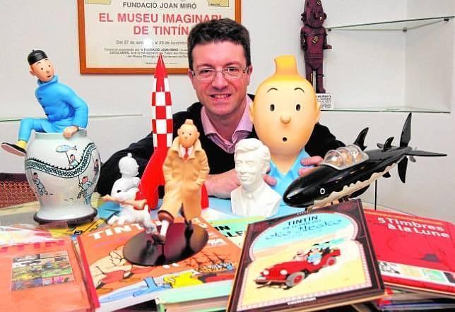 Pedro Rey, el niño al que Tintín hizo uno de los mejores coleccionistas del mundo