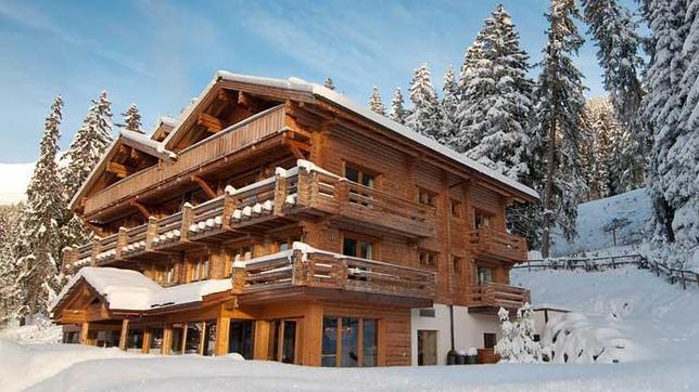 El espectacular hotel de richard branson en los alpes suizos - Casas en los alpes suizos ...