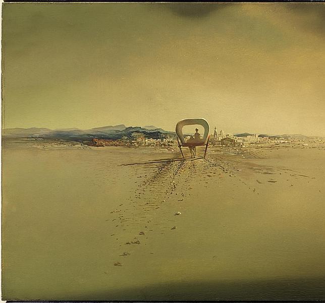 «Carreta fantasma», de Salvador Dalí