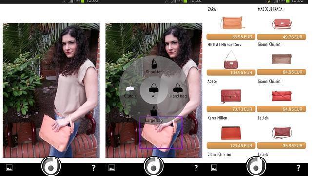 Lanzan Dresscovery, la «app» que identifica una prenda de moda con tan solo una foto