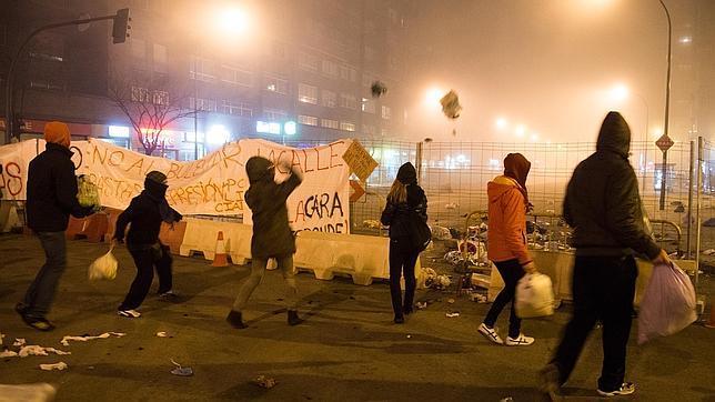 Varios detenidos en Burgos son del grupo de ultra izquierda Resaca Castellana
