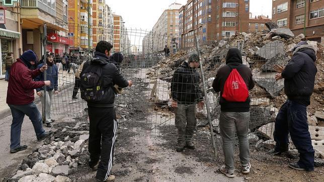 Identificados grupos radicales violentos «infiltrados» en los disturbios de Burgos