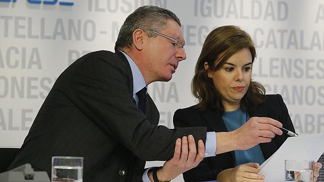 Gallardón admite «mejoras» en la ley del aborto durante la tramitación parlamentaria