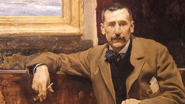 Joaquín Sorolla pintó el retrato más conocido del escritor y político canario