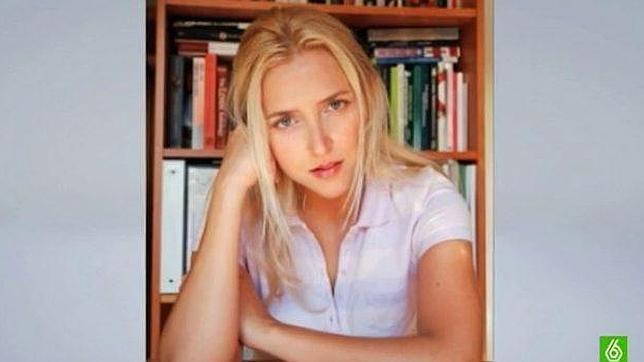 Irene Zoe Alameda, escritora que se esconde tras el seudónimo de Amy Martin