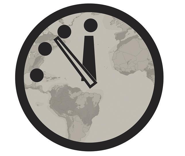 El Reloj del Juicio Final, a cinco minutos para el apocalipsis