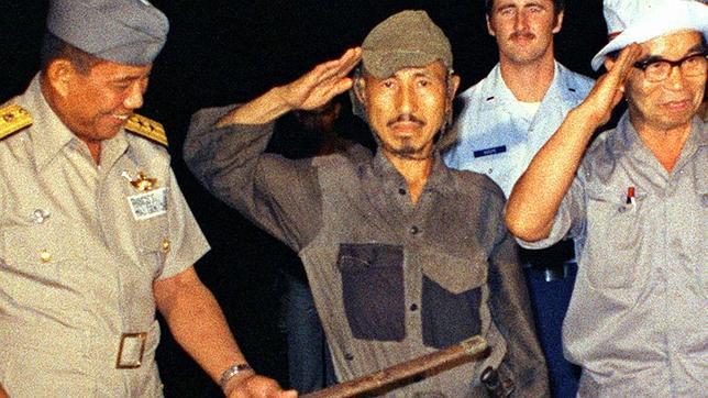 Hiroo Onoda rindió su espada en marzo de 1974