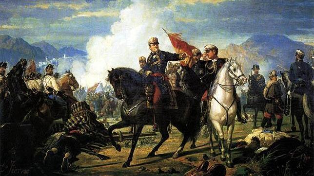 Tetuán, donde el ejército español de O'Donnell arrolló a 35.000 marroquíes