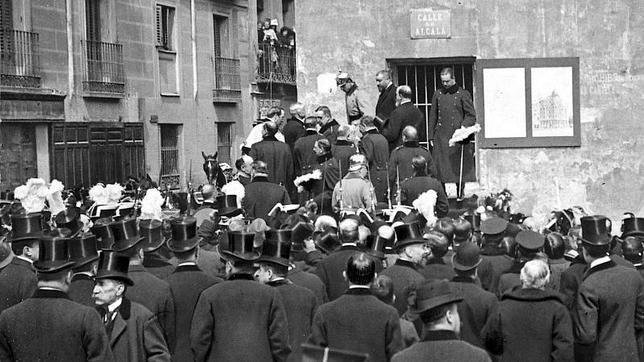 Madrid hace cien años, en imágenes inéditas