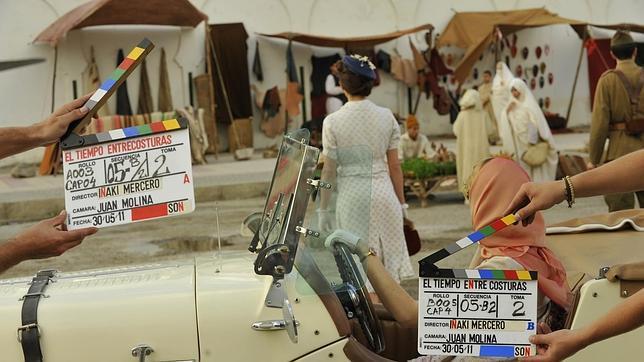 Rodaje de la serie en Marruecos