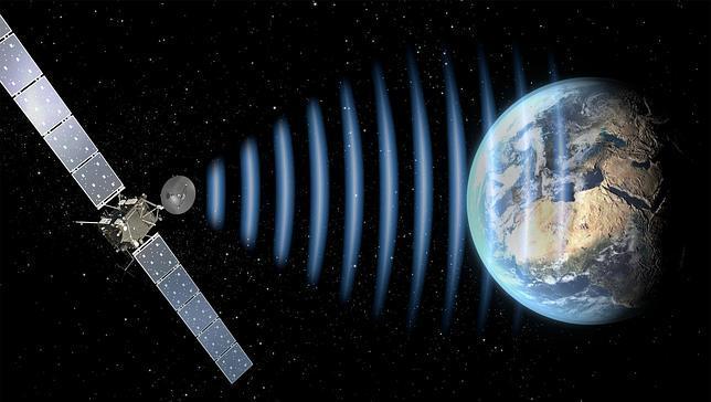 Rosetta envía las primeras señales a la Tierra