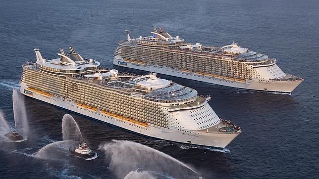 Los diez cruceros más grandes del mundo
